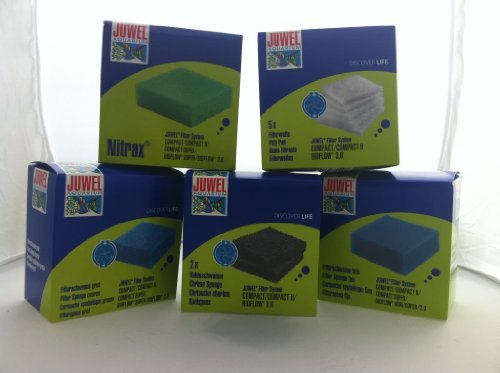 JUWEL Filter-Kompakt-Ersatzmedien-Set in komplettem