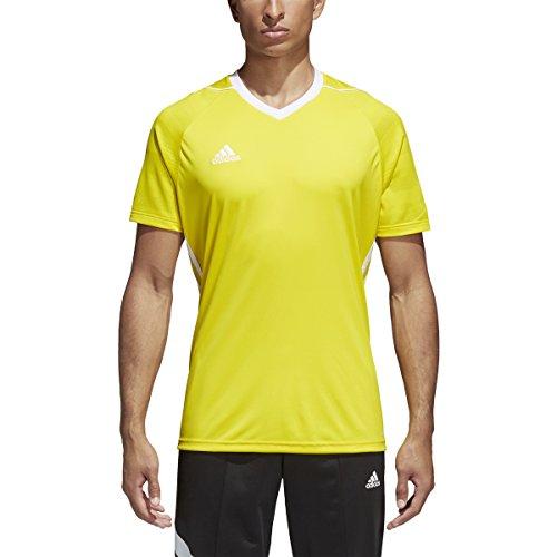 adidas Tiro 17 Mens Soccer Jersey S Yellow/White