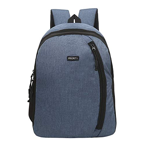 Priority Marcus 12 25 litres Navy Blue Polyester School Bag | College Bag | Casual Backpack for Boys & Girls (24151)