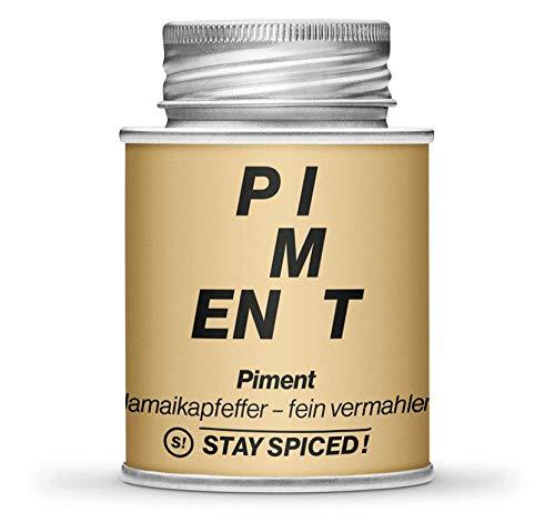 JAMAIKA PFEFFER von STAY SPiCED ! Piment I Ganze Pfefferkörner I Ideal für die Pfeffermühle I 170 ml Weißblechdose