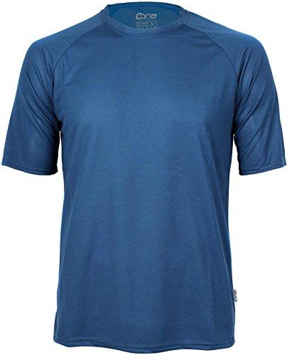 Basic Funktions - Sport T-Shirt in vielen Farben Farbe Navy Größe XL