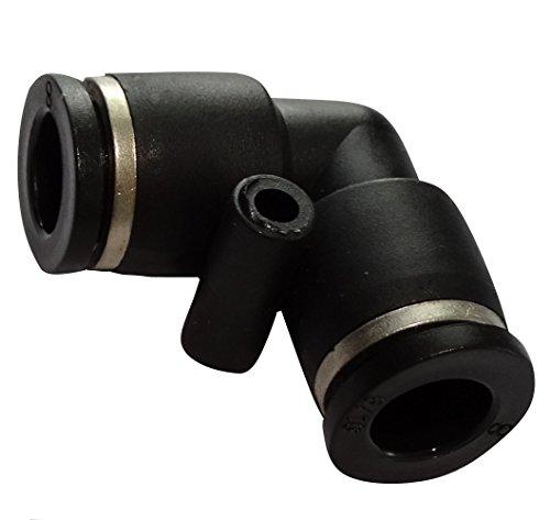 Aerzetix C17161 snelkoppeling, gebogen, 8 mm, pneumatisch, vloeistof, perslucht compressor