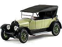 1919年式のCadillacタイプ57ミニチュアカー ソフトトップ ライム 1/32