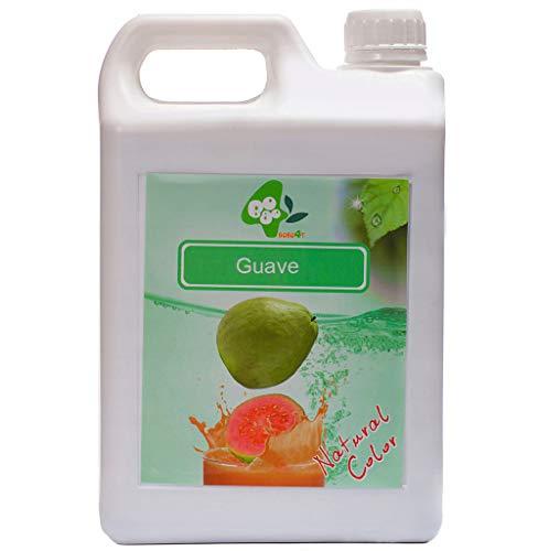Sirup Sirupe Früchte Obst Fruchtsirup Für Bubble Tea Guave 100% Vegan und Glutenfrei 2,5kg 1900 ml