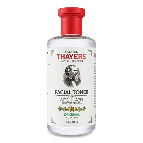 Thayers Alcohol-Free Original Witch Hazel Facial Toner with Aloe Vera Formula , clear , 12 oz