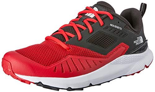 The North Face M Rovereto, Zapatillas de Running Hombre, Rojo (TNF Red/TNF Black Kz3), 46 EU