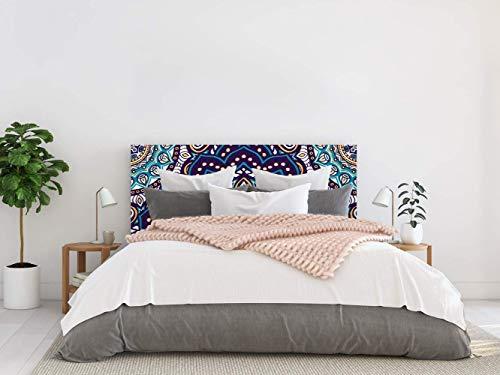 Cabecero Cama PVC Mandala 135x60cm | Disponible en Varias Medidas | Cabecero Ligero, Elegante, Resistente y Económico