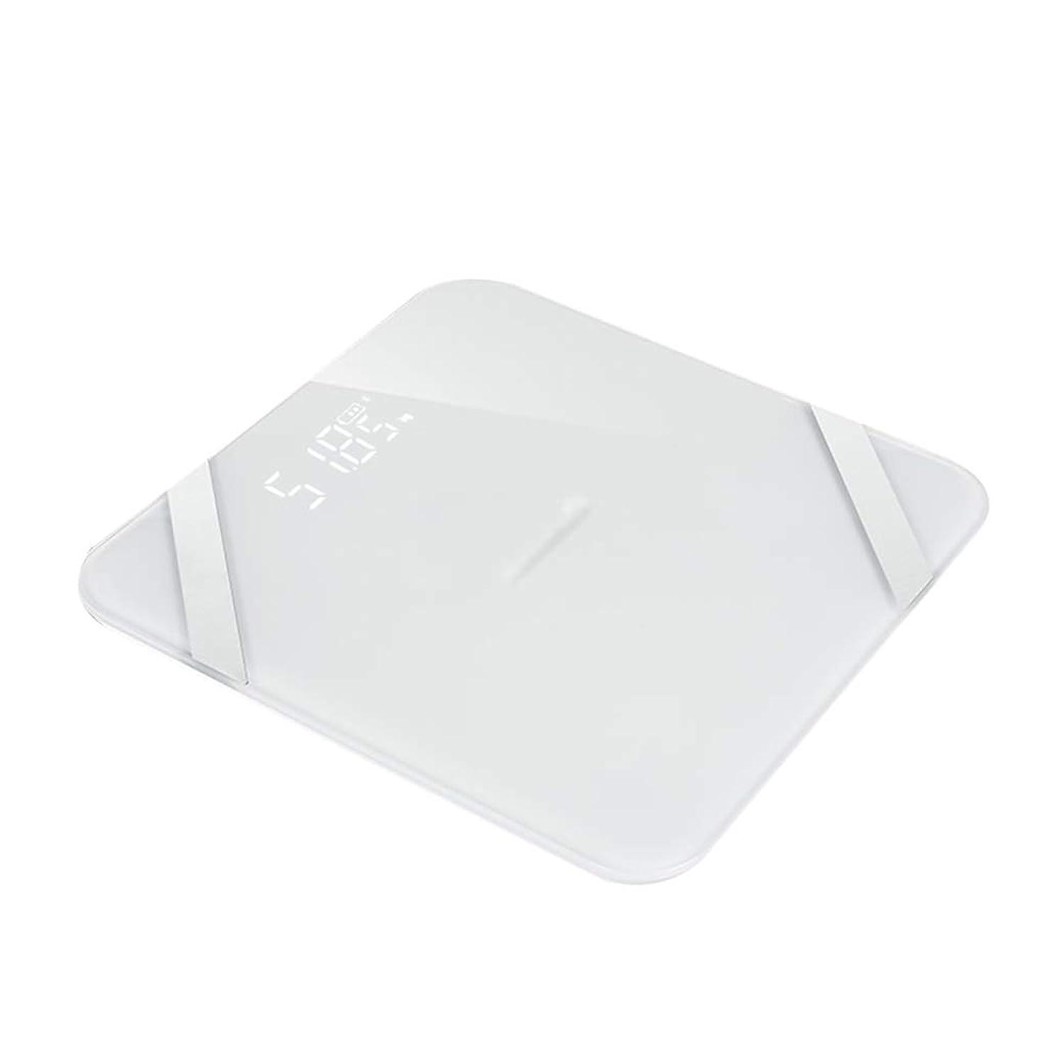 年金受給者価値財布LEDディスプレイボディスケールインテリジェント精密強化ガラス電子スケールホーム寮のスケールは150kg(29x23.5x2cm)に耐えることができます