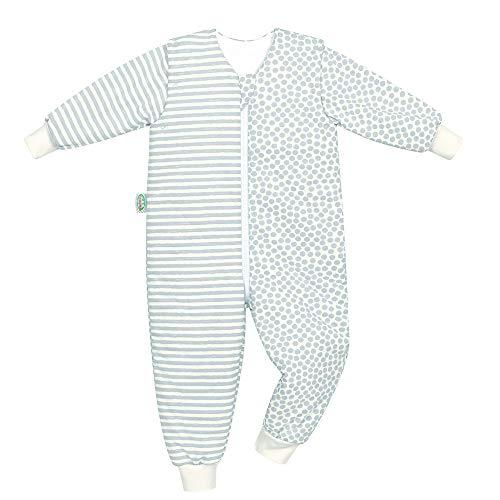 Odenwälder Schlafsack Hopsi Schlafoverall 110-116 Schlafoverall mit abnehmbaren Armeln 3,5-4 Jahre