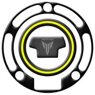 Tankpad Sticker Protection de Reservoir Moto Autocollant en Gel compatible pour Yamaha MT-07 Bleu