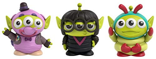 Mattel Pixar Alien Remix Toy Story Aliens with Bing Bong, Edna Mode & Heimlich 3-Pack Toys, Disney and Pixar Movie Character Figures Approx 3-in, Collectors Gift Ages 6 Years & Up