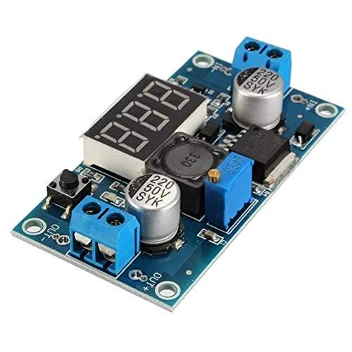 MOZUSA Módulo de alimentación de Down 3pcs LM2596 DC-DC regulador de Voltaje Paso Ajustable con Pantalla de Alta eficiencia Accesorios Módulo
