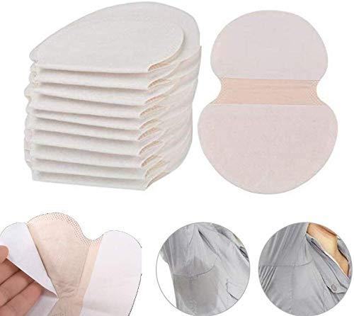 Yicare 40 Pièces Patch Anti-transpirants Jetable Coussinet anti-transpirants Invisible Lingette Protège Aisselles pour Femmes Hommes