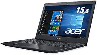 Acer (エイサー) ノートPC Aspire E 15 E5-576-N34D/K オブシディアンブラック [Win10 Home・Core i3・15.6インチ・HDD 500GB・メモリ 4GB]