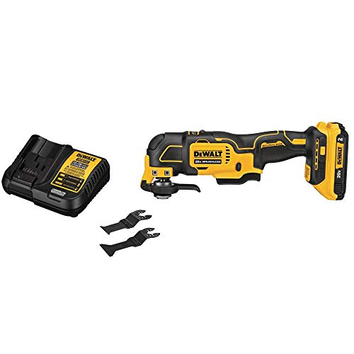 20-Volt MAX Lithium-Ion Cordless Brushless Oscillating Tool Kit with (1) 2.0Ah Battery & Charger