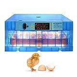 JHKGY Incubadora De Huevos,64-320 Huevo Digital Automático De Aves De Corral Incubadora De Huevos,Incubadoras De Huevos,para Pollo Fecundado Pato Pato Codorniz Novias Huevos para Incubar,320Egg