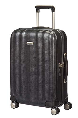 Samsonite Lite-Cube - Spinner S Hand Luggage, 55 cm, 36.5 Litre, Grey (Graphite)