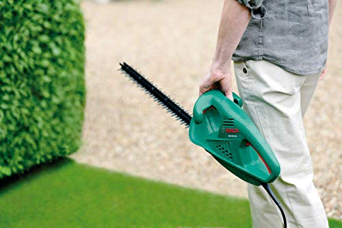 Bosch 0600847A00 AHS 45-16 Tagliasiepi, 420 Watt, Lunghezza di Taglio 450 mm, Spessore di Taglio 16 mm, in Cartone