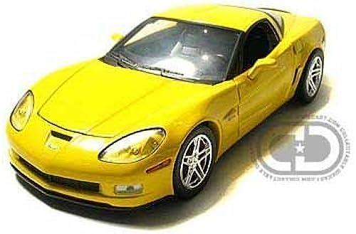 2007 Chevy Corvette ZO6 1 24 Velocity jaune by Collectable Diecast