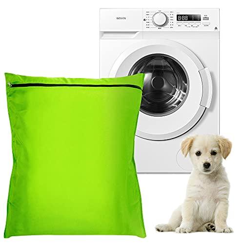Bolsa de Lavandería para Mascotas 60*70CM Bolsa de Lavandería con Cremallera Aislar el Pelo de Animales para Evitar Que se Bloquee la Lavadora