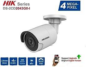 HIKVISION DS-2CD2043GO-I 4MP 2.8MM IR IP67 Fixed Mini Bullet Network Camera