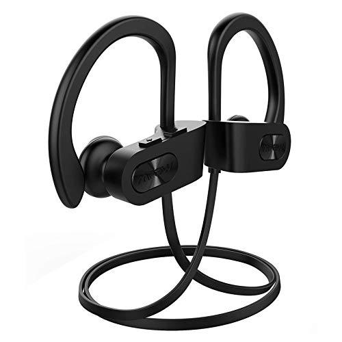 Mpow Auriculares Bluetooth Deportivos, Flame Inalámbricos Running IPX7 Impermeable Auriculares Cascos V5.0 In-Ear, Correr con Micrófono,Cancelación de Ruido para Gimnasio,Viajes,Deporte