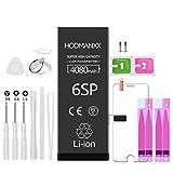 HODMANXX Batterie Haute Capacité Compatible pour iPhone 6S Plus 4080mAh avec Kits d'outil de...