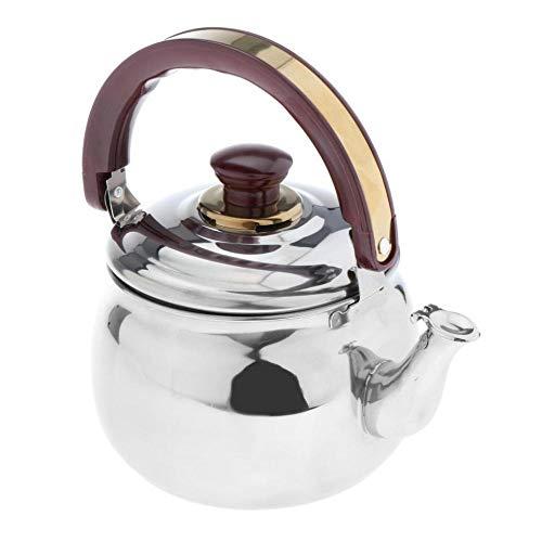 Hervidores de acero inoxidable silbando tetera tetera cafetera hervidor de agua utensilios de cocina-20x16cm