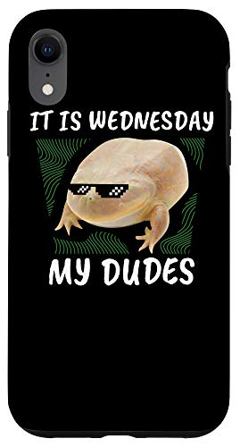 iPhone XR It Is Wednesday My Dudes | Frog Wednesday Memes Gift Case
