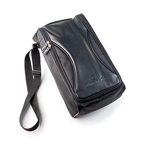 Werner Kern Tasche für Tanzschuhe Schwarz für 1-2 Paar Schuhtasche Schuhbeutel hochwertig