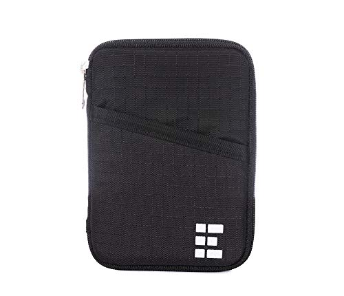 Zero Grid Passport Wallet - Travel Document Holder w/RFID Blocking
