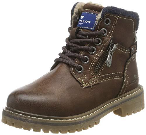 TOM TAILOR Jungen 7970602 Klassische Stiefel, Braun Rust 00066, 35 EU