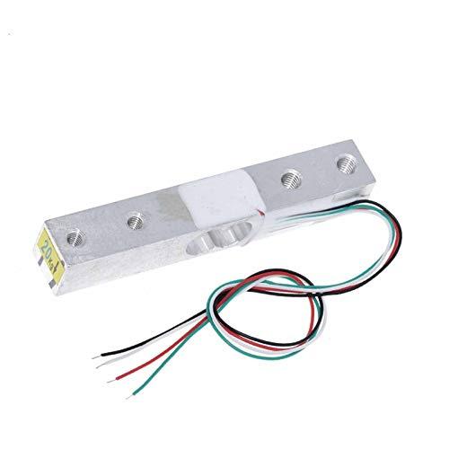 EWDF 2021 Sensor de Peso de la celda de Carga Digital 1kg 5kg 10kg 20kg Báscula electrónica portátil de Cocina + HX711 Sensores de pesaje Sensores de módulo de anuncios (Color...