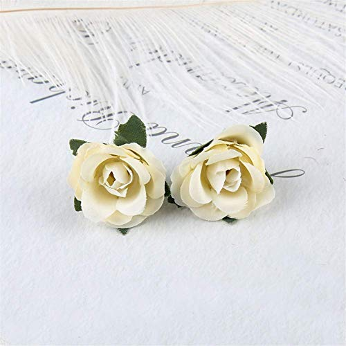 Mimitool Artificial Flower,Fake Rose rose Silk Bridal Realistic Bouquet Christmas Party Home Hotel Office Garden Decorative