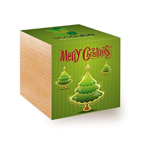 ecocube Holzwürfel - Weihnachtsbaum Xmas Tree 2
