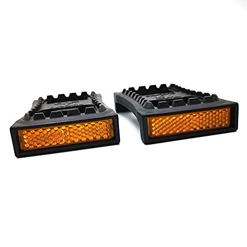 yjknwan Variedad MTB Adaptador Plano de Tacos de Pedal SM-PD22 Placa de Bloqueo automático para M520 M540 M780 Moderar (Color : Black)