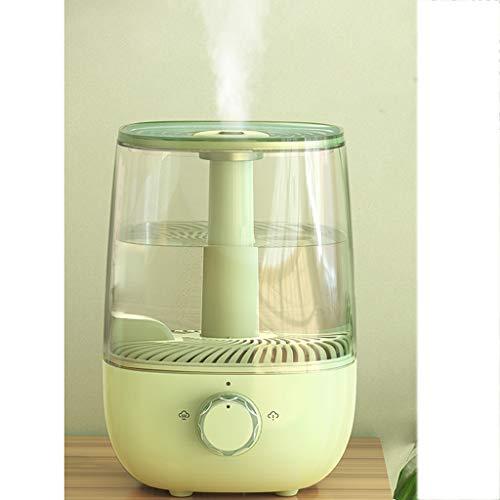 Ajustable por Ultrasonidos Humidificador De Vapor Frío 5L Tranquilo Aire De La Niebla Vaporizador For Bebés (BPA Free), Función De Apagado, Esencial Difusor De Aceites, Dura hasta 17 Horas