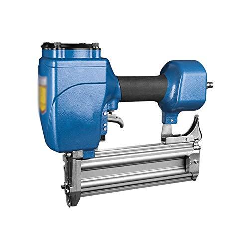 Sdesign Pistola eléctrica y clavadora Brad, para tapicería de Muebles, Textiles, alfombras, Paneles y carpintería, Grapadora Industrial Recta