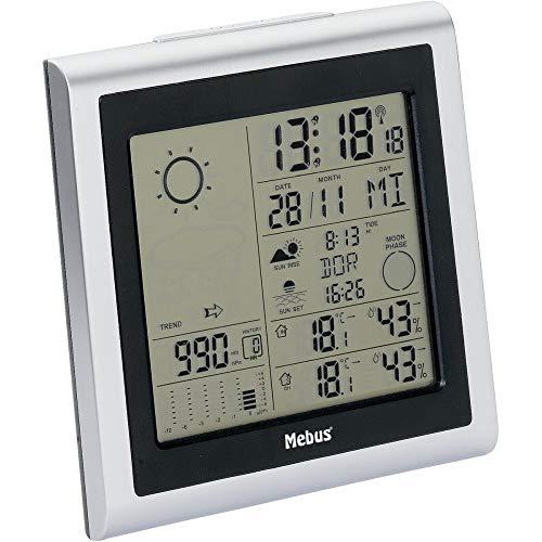 Mebus 40283 Wetterstation weiß 130 mm, 60 mm, 130 mm
