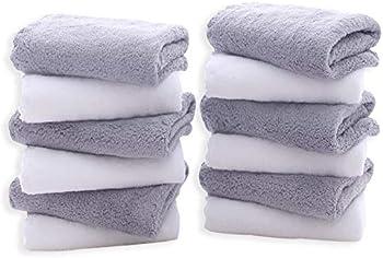 12-Pack Tenstars Premium Washcloths Set