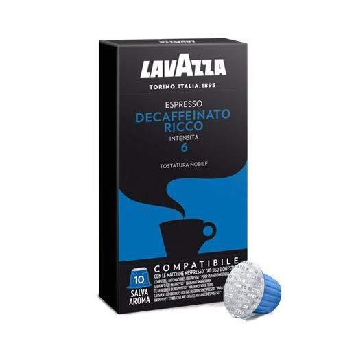 200 Kapseln Lavazza kompatibel mit Nespresso Decaffeinato Ricco