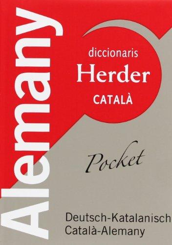Diccionari pocket Herder Deutsch-Katalanisch, català-alemany (Diccionarios Herder)