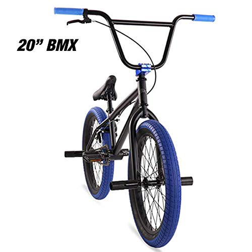 "Elite 20"" & 16' BMX Bicycle The Stealth Freestyle Bike (20' Matte Black)"