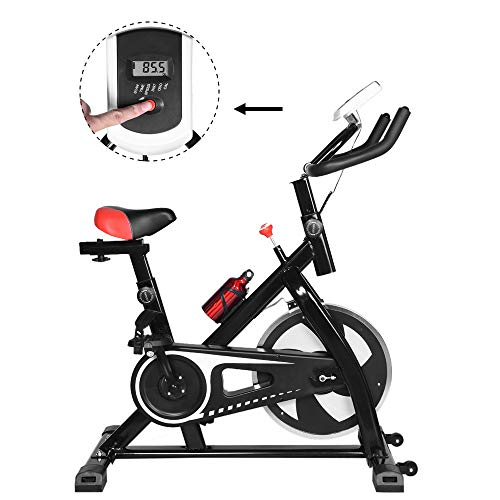 2020 NEW Shan_s Spinning Bicycle/Stationary Bike, Belt Drive Indoor Ultra-quiet Exercise Fitness Bicycle Equipment 4