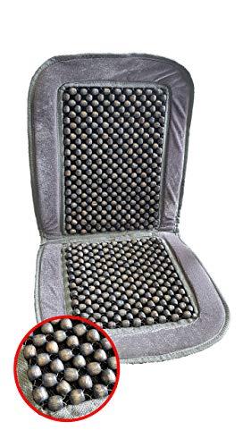 HP-Autozubehör 19118 Houten kogel-stoelkussen Luxe