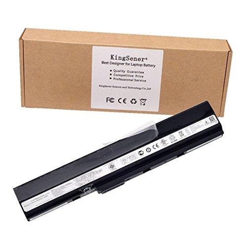 Kingsener A32-K52 Laptpo Batería para ASUS A52 A52J A52F A52JB A52JK A52JR K42 K42F K42J K42JK K52F K52J A31-K52 A41-K52 A42-K52 con Garantía de 2 Años