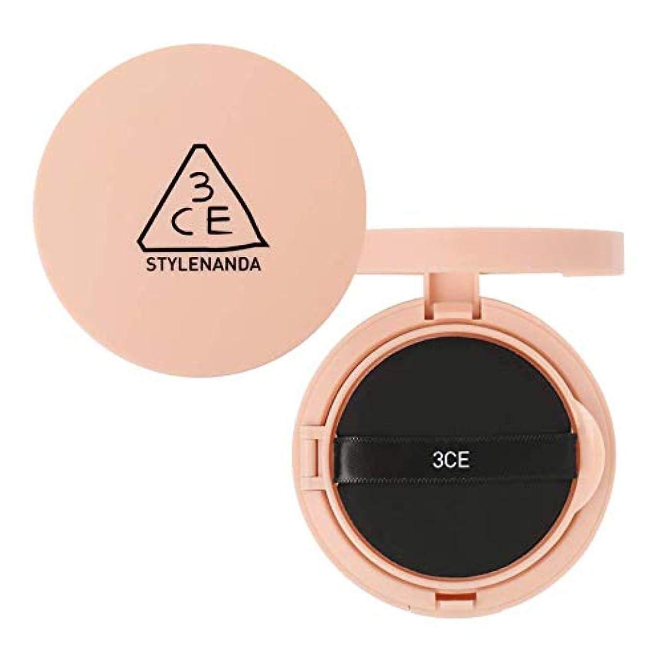 原点体無意味3CE グロー スキン クッション SPF50+ PA++++ / 3CE Glow Skin Cushion 15g [並行輸入品]
