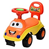 Goyal's Kids Magic Ride on Push Car Rider with Musical Horn, 1-3 Years (Orange)