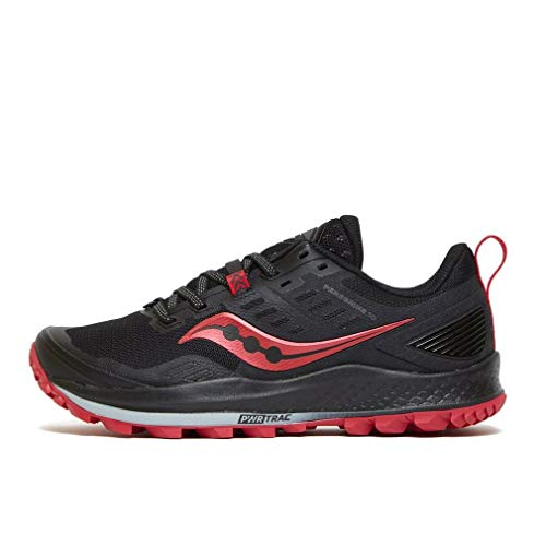 Saucony Peregrine 10 Black/Barberry