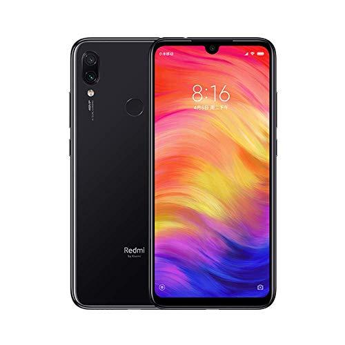 Xiaomi Redmi Note 7 Smartphone da 6.3' FHD, Snapdragon 660, 3 GB di RAM, 32 GB, doppia fotocamera 48MP+5MP, batteria 4000 mAh, Nero (Space Black)